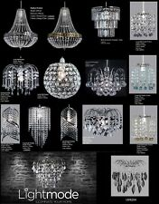 Crystal lampshades and lightshades ebay chandelier style modern ceiling light shade droplet pendant acrylic crystal bead aloadofball Images
