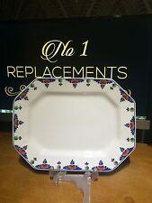 British Adams Pottery Platters