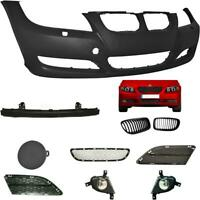 Set Bumper Front for BMW 3er E90 E91 Year 08-11 Carrier+Grill+Accessories + Fog