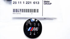 Genuine BMW E60 E39 E46 E36 E34 E30 M 5-Speed Gear Knob Badge Emblem 25111221613