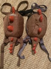 X2 Little Life Dinosaur Backpack Reins Ideal Safety For Twins