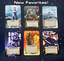 SERIES 3 Custom X-WING Alt-Art Cards:  32 UPGRADES and CONDITIONS