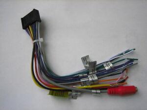 "Jensen Wire Harness multimedia receiver 10.1"" for CAR10, CAR1000, CAR70V,CAR710"