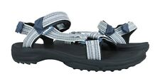 Teva Terra Fi Lite Double Zipper Grey Sandals Womens Size 7 *NEW*
