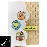 Window Edge Metal Cutting Dies Stencil DIY Scrapbook Album Card Craft Embossing