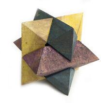 Puzzle de madera Estrella Color juego de inteligencia Juegos Mano Rompecabeza 3D