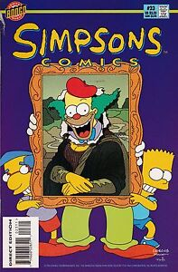 SIMPSONS COMICS #23 1996 BONGO COMICS MATT GROENING -  NF UNREAD CONDITION**