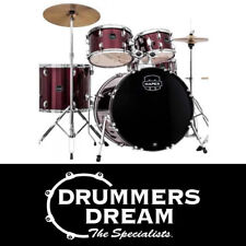MAPEX Prodigy 5 Piece Drum Kit  - Red Finish w/ Hardware & 3 Cymbals