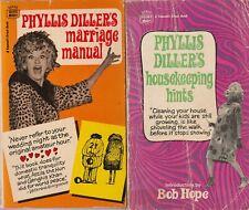 Phyllis Diller's Marriage Manual Phyllis Diller's Housekeeping Hints Paperback
