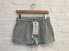 New York Yankees Women's Majestic MLB Lounge Shorts - Sizes 8, 16 - Grey - New