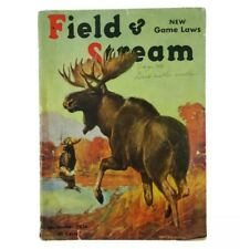 Vintage Field & StreambSeptember 1936 Hunting Fishing Camping Sporting