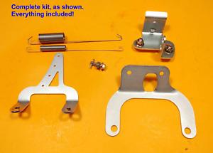 For MOPAR Small Block High Rise Intake THROTTLE BRACKET Kit 340 360 318 Dodge +