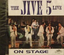 THE JIVE 5 LIVE ON STAGE - 13 Tracks on RELIC #7109