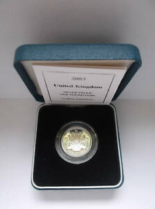 1983 to 2017 Silver Proof £1 One Pound Royal Mint; choose your date cased + COA