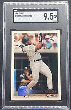 1996 Topps Frank Thomas #100 Chicago White Sox HOF SGC 9.5 Mint+