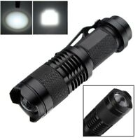50000LM T6 Tactical Flashlight Military LED Zoomable Rechargeable Torch Q5 LED
