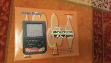 Radio Shack 2 in 1 Draw Poker & Blackjack Excellent Condition