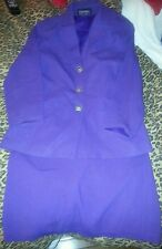 WOMENS SUIT BUTTON UP JACKET AND SKIRT-FORWEAR-NEW YORK-SIZE 10