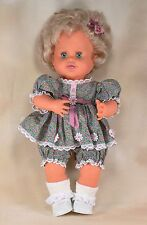 "Vintage Ideal Rub A Dub Dolly Vinyl Doll w/Custom Hand Made Clothes 16"" 1989"