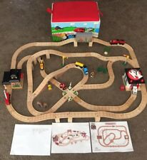 Learning Curve Thomas the Train Wooden Railway Deluxe Sodor Rescue Team Set!