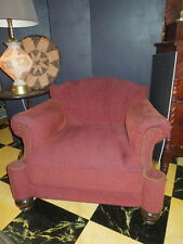 Period,German Bauhaus Upholstered Chair, solid wood frame