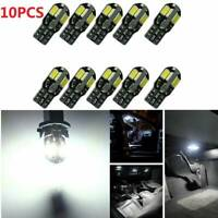 10x Canbus T10 194 168 W5W 5730 8 LED SMD White Car Side Wedge Light Lamp HOT JT