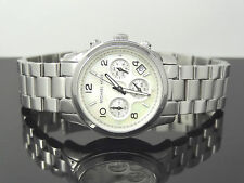 Michael Kors MK5304 Runway Chronograph Mother of Pearl Dial w/ Date Womens Watch