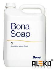 BONA Soap 5L Parkettreiniger Seife Cleaner Parkettpflege für geölte Böden