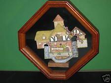 David Winter Retired Pershore Mill Shadow Box