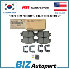 OEM GENUINE FRONT BRAKE PADS KIT FOR 19-20 TUCSON 17-20 SPORTAGE 58101-D3A11
