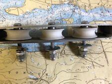 "Aluminum Triple Deck Organizer for Sailboat 7/16"" Max Line"