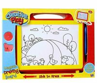 Creative Play Plastic Material Kids Magnetic Drawing Board Sketcher Toy Ages 3+