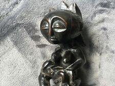 West African antique Tribal maternity statue, lovely aged patina