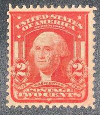 Travelstamps: 1903 US Stamp Scott# 319 Washington , 2 cents, mint, NG, Hinged
