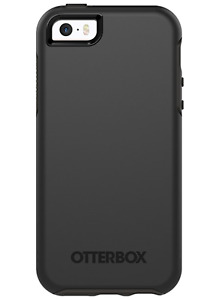 OtterBox Symmetry Series Case for iPhone SE 5 & 5S Black
