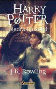 Harry Potter y la piedra filosofal SPANISH Book