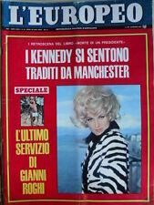 L' EUROPEO n°13 1967 Ultimo servizio Gianni Roghi - Elsa Martinelli - Kenn [C75]