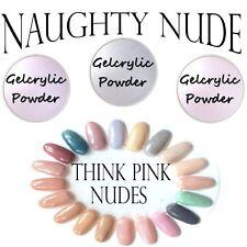 Gelcrylic Think Pink Kit Odorless UV/LED Gel Powder Acrylic Sprinkle Dip System