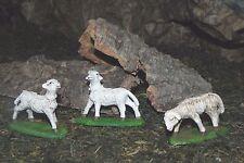 Nativity Sheep Figurines Pellegrini Presepio Animales para Pesebre Ovejas