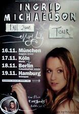 Michaelson, Ingrid - 2009-tourplakat-en concert-Everybody-tourposter