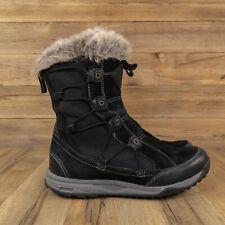 Teva Womens Thinsulate Waterproof Black Winter Snow Boots Size 7 - 1001457