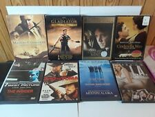 Dvd Russell Crowe Collection 8 Dvd'S Total Gladiator,A Beautiful Mind Etc.