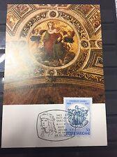 Vatikan Vaticano Vaticane 1983 Mi 826 Maximumkarte Raffaello Sanzio