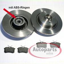 Renault Megane Scenic - Bremsscheiben 2 ABS Ringe 2  Radlager Beläge für hinten*