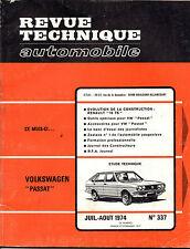 RTA revue technique automobile n° 337  VOLKSWAGEN PASSAT 1974