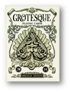 Grotesque Deck By Cyberian Way, LLC Poker Playing Cards Cardistry