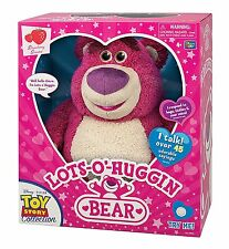 Disney Toy Story Lots-O-Huggin Lotso Bear Strawberry Scented Interactive Talking