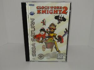 Clockwork Knight 2 Sega Saturn - Replacement manual, insert and case