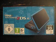 New Nintendo 2DS XL Noir Turquoise JAN-001 Boite Console Portable Tactile 2017