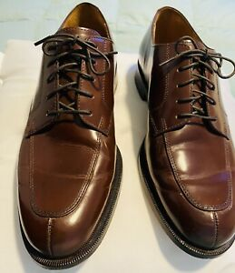 Cole Haan Mens Lace Up Dress Shoes Size 8 1/2 Color: Wine